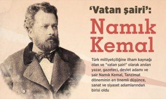 Vatan Şairi Namık Kemal'in Hayatı, Edebi Kişiliği ve Eserlerinin Özetleri