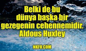 Aldous Huxley Sözleri