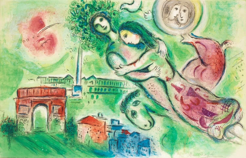 Marc Chagall - Romeo Juliet