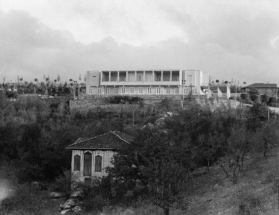 1935 Yılında Çankaya Köşkü