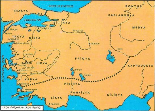 Lidya Haritası