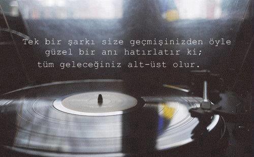 Müzik ile ilgili sözler