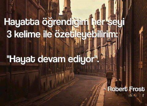 Robert Frost Sözleri
