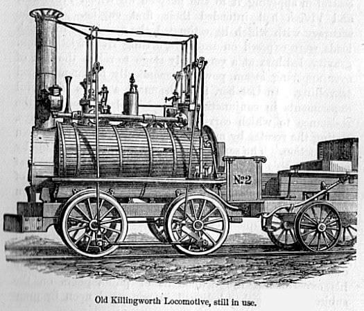 İlk Stephenson Lokomotifi
