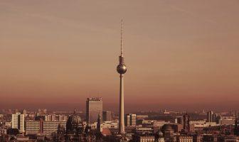 Berlin Şehrinin Görünümü