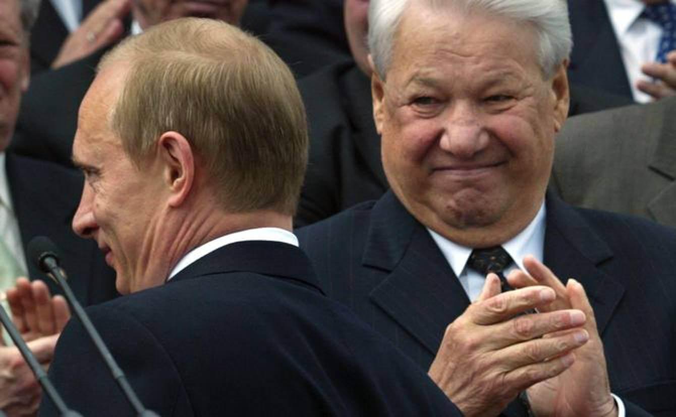 Boris Yeltsin ve Putin