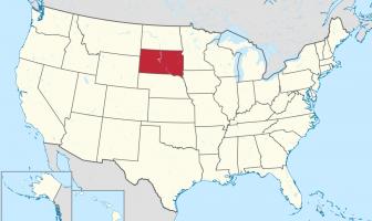 Güney Dakota Haritası