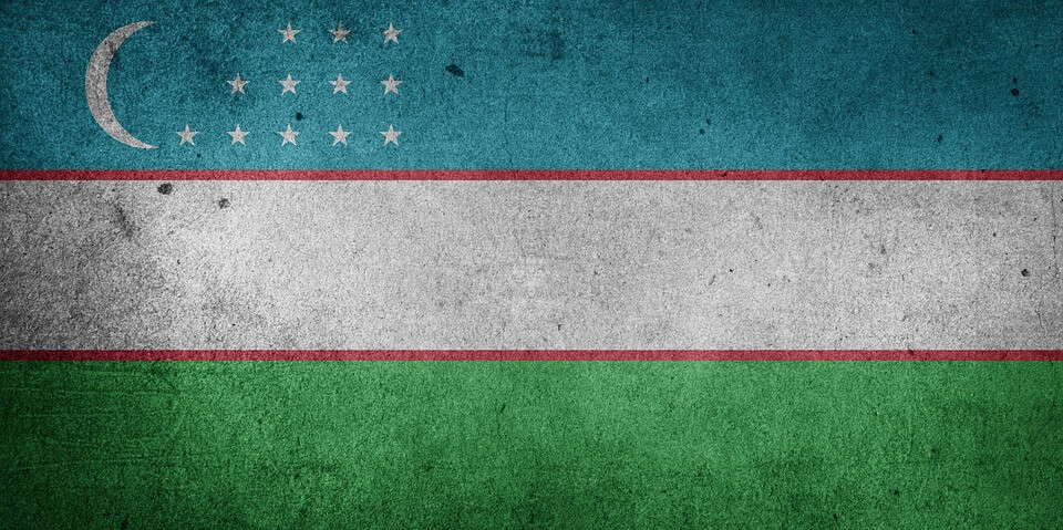 Özbekistan Bayrağı