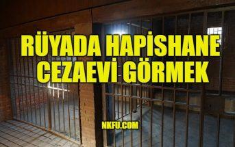 Rüyada Hapishane, Cezaevi Görmek