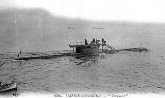 Sonradan Müstecip Onbaşı ismini almış olan Fransız Turquoise denizaltısı