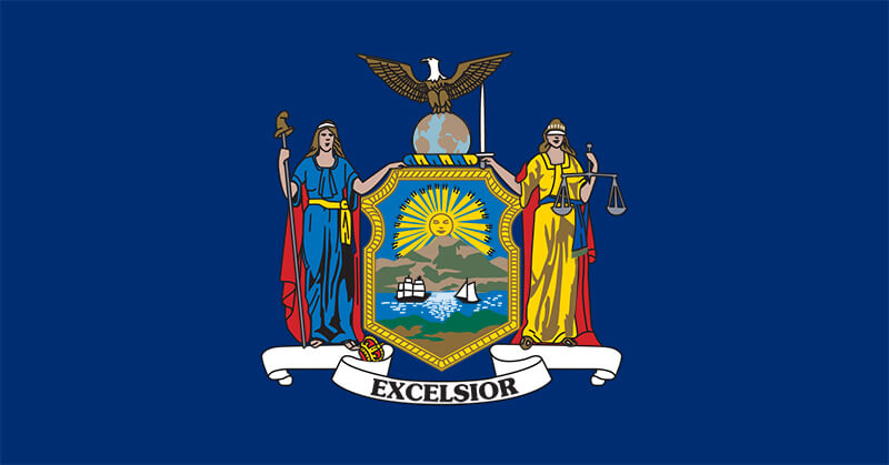 New York Eyalet Bayrağı