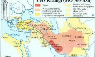 Pers Krallığı Haritası