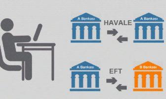 EFT ile Havale arasındaki fark