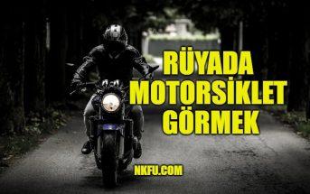 Rüyada Motorsiklet Görmek