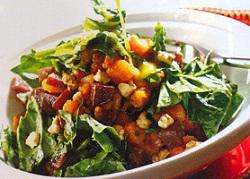 Bal Kabaklı Pancarlı Ispanak Salatası