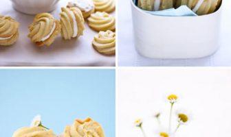 Kremalı Limon Kurabiyeleri