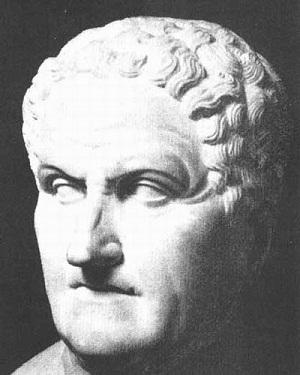 Claudius Galenus Büstü