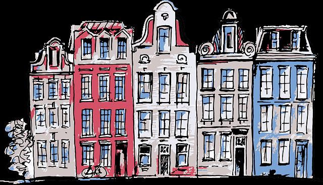 Amsterdam - Hollanda Evleri