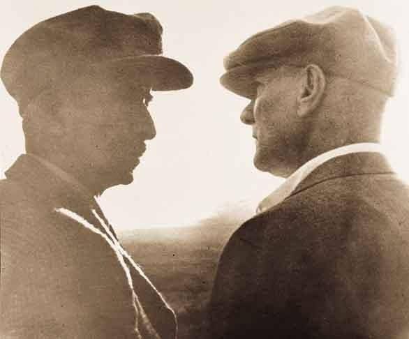 Atatürk ve İsmet İnönü