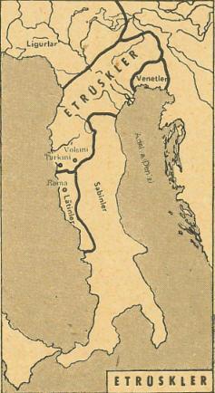 представляет собой карта этрусков из ватикана фото двести