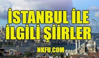 İstanbul İle İlgili Şiirler