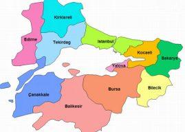 Marmara Bölgesi İlleri