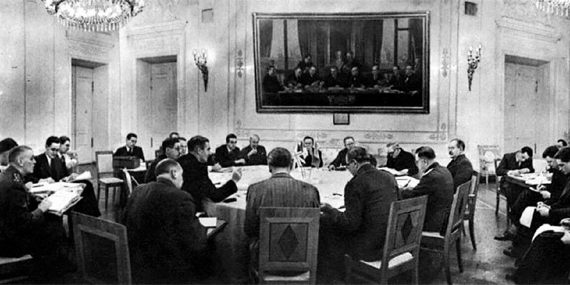 Moskova Konferansı, 1943.