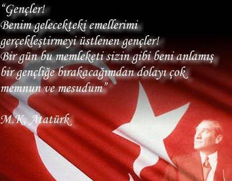 Atatürk İle İlgili Resimli Yazılar