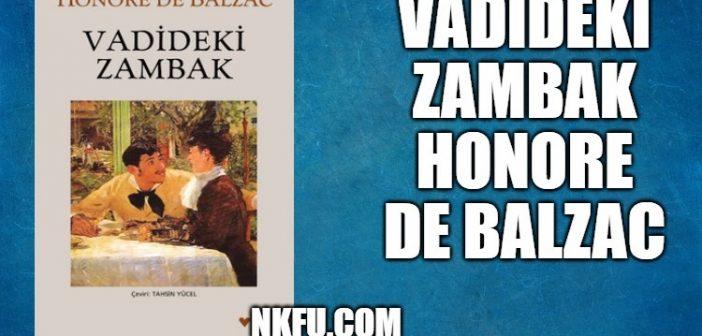 Vadideki Zambak Kitap Özeti Konu Karakterler Yorumlar Honore de Balzac
