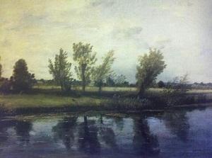 John Constable tarafından yapılmış bir manzara resmi