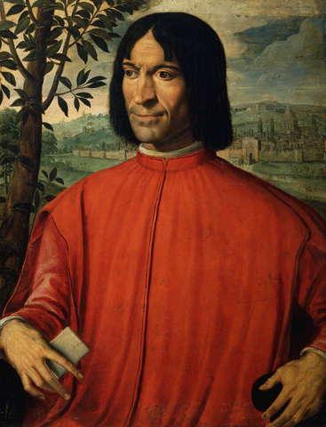 Lorenzo de' Medici : Floransa hükümdarı ve sanatçıların koruyucusu.