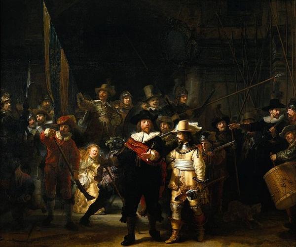 Rembrandt'ın Gece Devriyesi isimli eseri