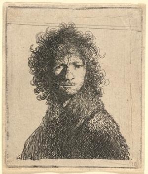 Rembrandt Van Rijn oto-portresi