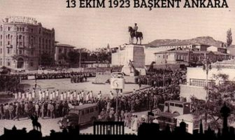 Ankara Başkent Oluşu