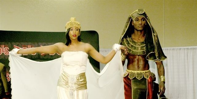 eski Mısır düğün