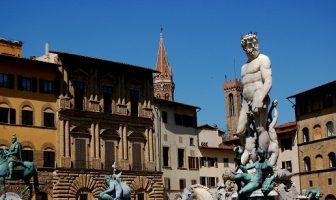 Rönesansın merkezi konumundaki kent Floransa'dan bir görünüm