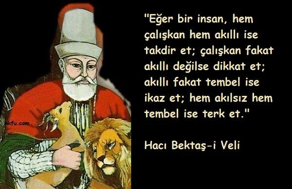 Hacı Bektaş-i Veli Sözleri