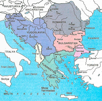 balkan-yarimadasi-harita