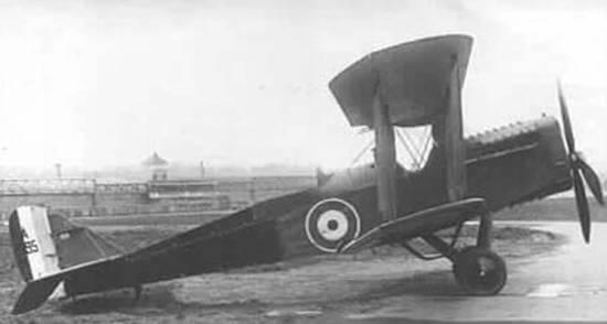 1. Dünya Savaşı savaş uçağı
