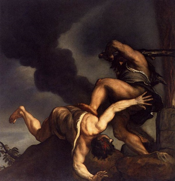 Habil İle Kabil tablosu - Titian (1544)