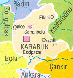 karabuk-harita