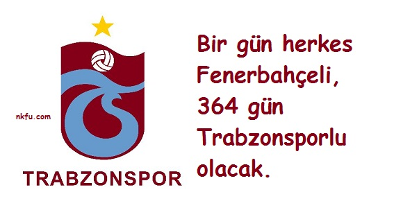 Trabzonspor Sözleri – Sloganları