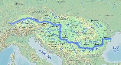 Tuna Nehri Haritası