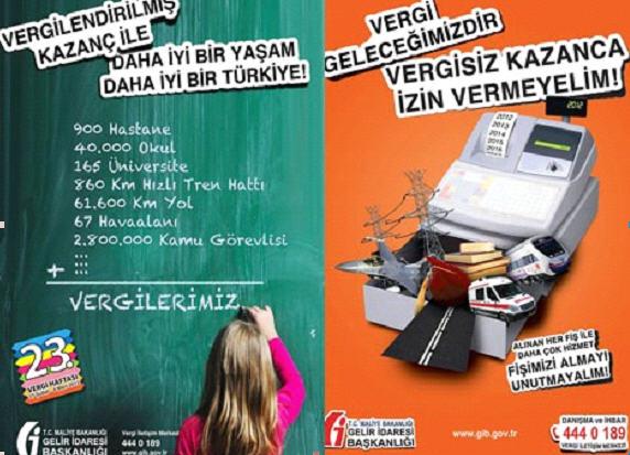 Vergi haftası vergi ile ilgili görseller afişler posterler ve