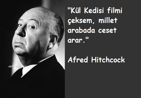 Alfred Hitchcock Sözleri