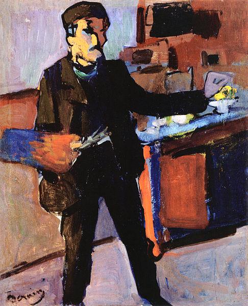 Fovizm akımı ile yapılmış bir örnek : André Derain