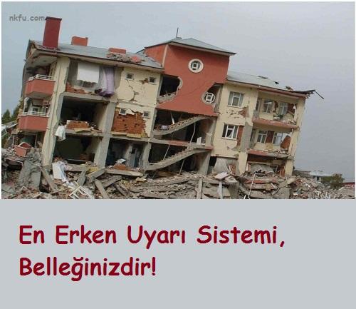 Deprem İle İlgili Sözler
