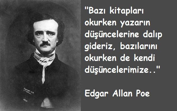 Edgar Allan Poe Resimli Sözleri