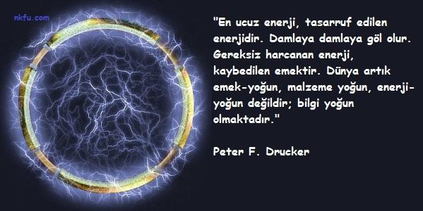 Enerji  İle İlgili Sözler
