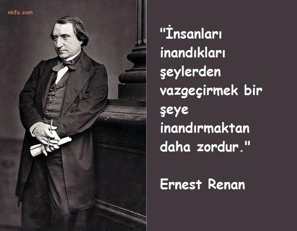 Ernest Renan Sözleri